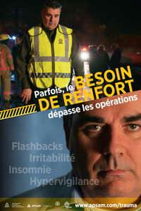 Stress post-traumatique : policiers provinciaux
