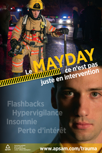 Stress post-traumatique : pompiers